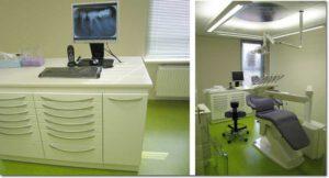Behandelkamers met Rontgenfotos beoordeling